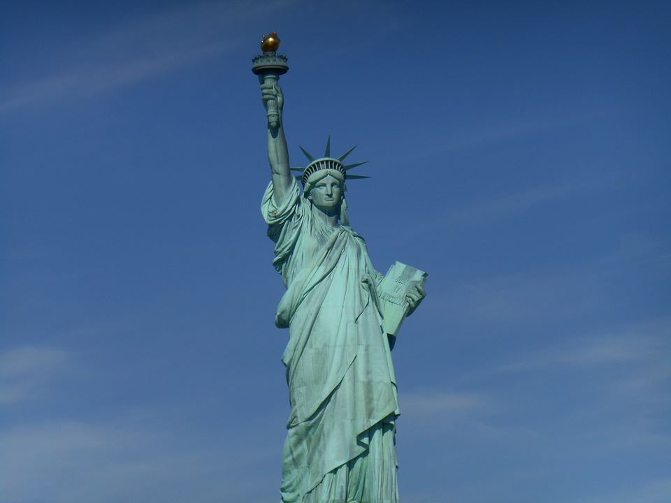 Picture of the Statue of Liberty