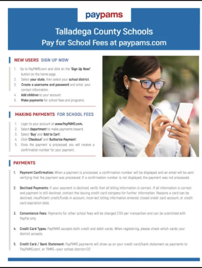 PayPams Information