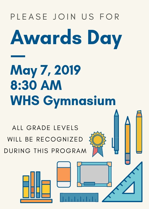 Awards Day May 7, 2019