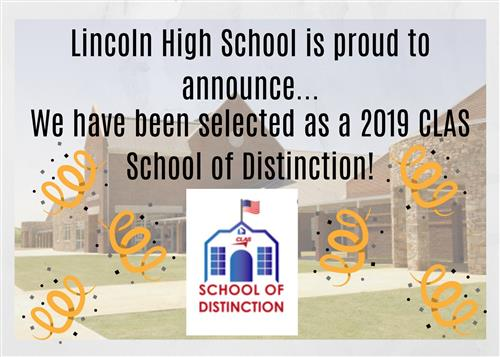 LHS CLAS Announcement