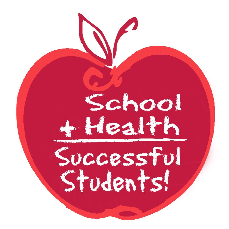 Red Apple logo for student health services