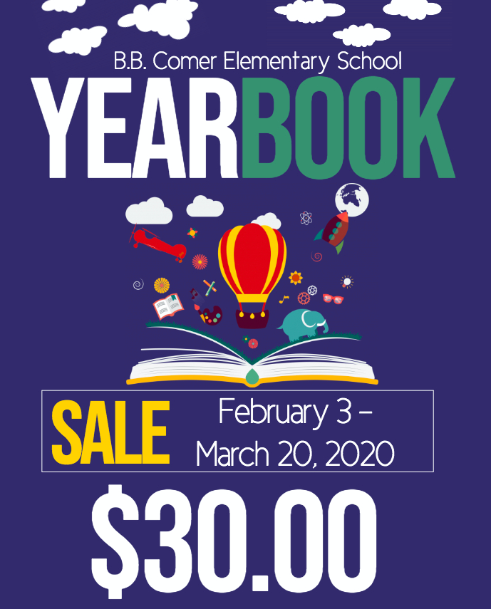 2019-2020 Yearbook Sale